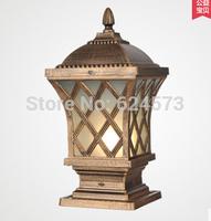 European waterproof outdoor lamp wall column headlights outdoor garden gate pillar wall lamp lamp Villa