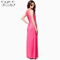 2014 fashion full  sexy  one-piece dress female  full dress