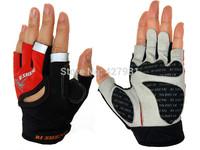 2014 brand new malpractice RI SHENG bike riding gloves half finger cycling gloves # 4179