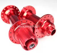 Free Shipping Fat Bike Hubs 32 holes Black Red color Bearing V brake front 15*135mm rear 12*170/190/197mm fatbike bicycle hubs