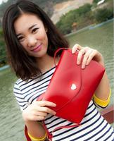 2015 New Arrival Women Sweet Messenger Bags Love Cute PU Leather Handbags Summer Fashion shoulder Bag Bolsas Femininas Purse