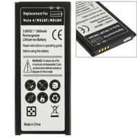 Newest High Quality Mobile Phone Battery 3800mAh Replacement Rechargeable Li-ion Battery for Samsung Galaxy Note 4 N910F N 910H