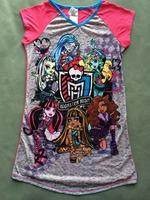 retail one piece free shipping monster high girl girls nighities sleep dress dresses