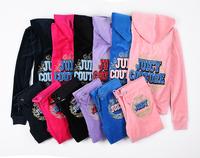 Hot New 2014 Fashion Brands Women's Tracksuits Suits sportswear jogging Suit Hoodies/Sweatshirts velvet lady Suits Size:S-XL