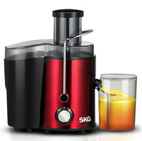 SKG Chromatic Stainless Steel Juicer Extractor GS-310L BS VDE Plug