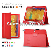 Retail for Samsung Galaxy Tab Pro 10.1'' Case T520 with sleep function 11colors free shipping