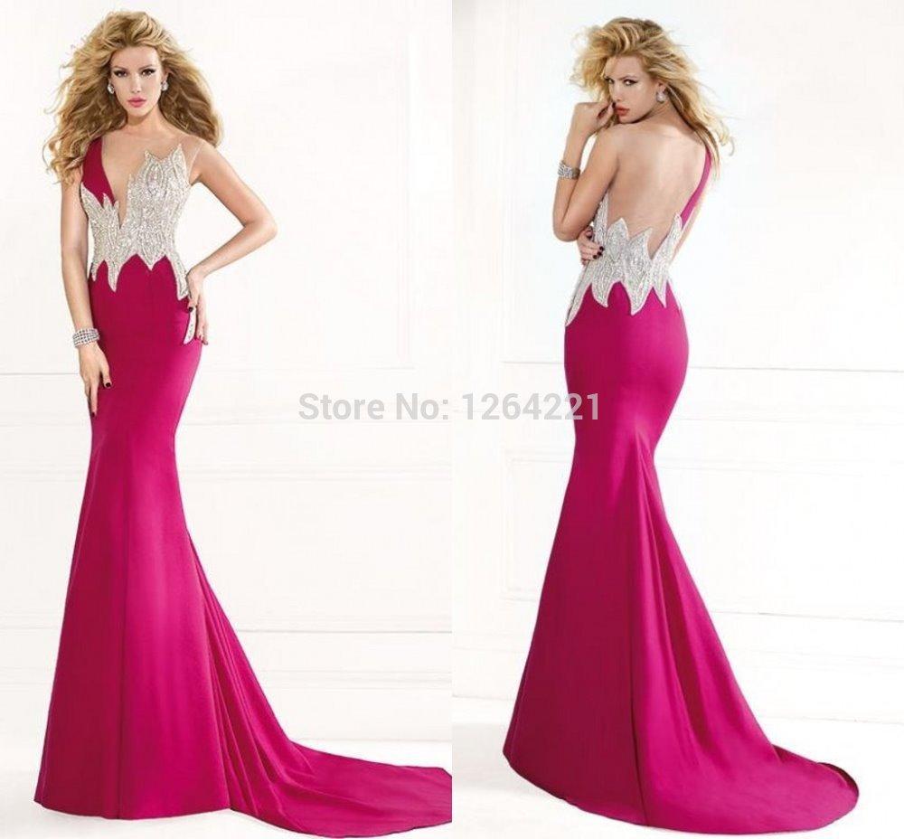 2015 new trumpt crystal long dresses evening v neck sequined robe de soiree 2014 one shoulder. Black Bedroom Furniture Sets. Home Design Ideas