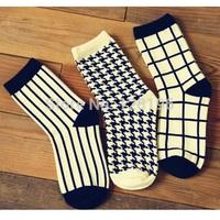 New 2014 womens cotton winter fashion socks on sales