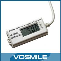 DC4-7V/2A Current/Voltage Measure Meter for USB Charger/PC/USB Digital Products 2in1 USB Volt Amp tester #400005
