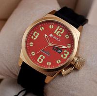 CURREN casual quartz watch men sports watches men luxury brand wristwatches rubber silicone men watch relogio