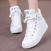 Free Shipping High Women's Invisible Elevator Shoes Autumn And Winter Platform Shoes Fashion Sneakers Shoes Sneaker