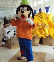New Goofy Dog Mascot Costume Fantasia Halloween Fancy Dress Disfraces Adult Size Cosplay EMS Free