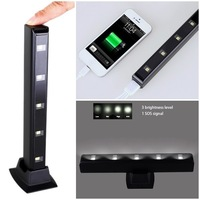 High capacity 5 LED camping light charger 5000mAh wholesale