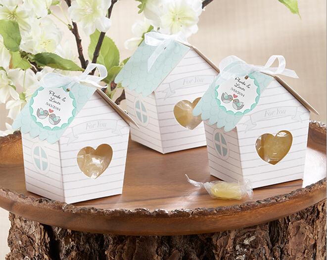 10 pçs/lote Mini amor ninho de pássaro de doces de casamento Favor do casamento caixa de Chocolate caixa de Gft(China (Mainland))