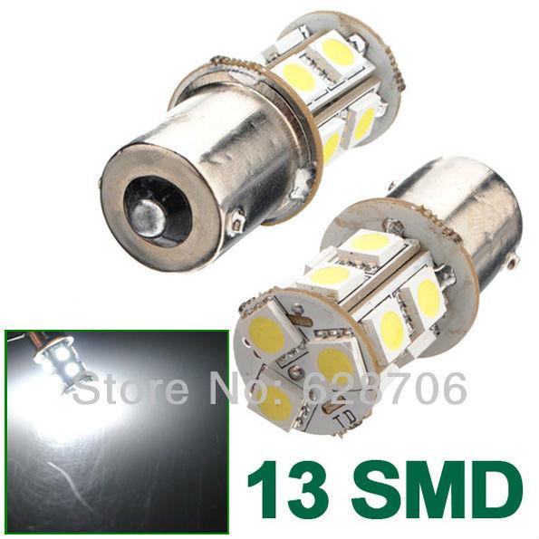 13 SMD 1156 BA15S P21W Reverse Turn Signal Brake Parking Daytime Running LED 5050 light Bulb 12V(China (Mainland))