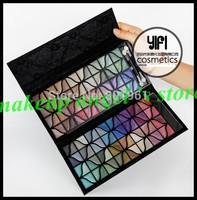 Free Shipping ! Banquet 128 Colors Eye Shadow Platter Eyeshadow Bag