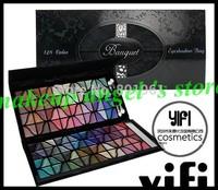 12pcs /lot ! Banquet 128 Colors Eye Shadow Platter Eyeshadow Bag Free Shipping