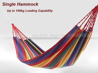 1 set - Single Hammock, suspended sleeping bed, Canvas, for Camping, travel, jungle, outing hiking, relaxing
