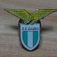 soccer accessories athletic club kids football souvenirs High quality Healthy Metal english premier league Pin Football lazio