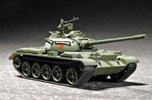 1/72 Chinese Type 59 Medium Tank Assembled Model Gift(China (Mainland))