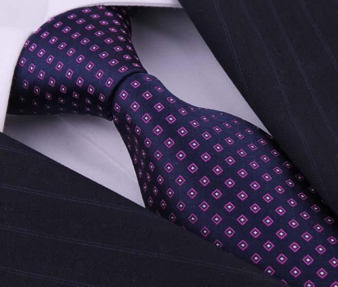 Designers Fashion 100 Silk Dot Ties Cravate For Men Gravatas Masculinas Seda Gentlemen Neckties Acessorios Masculinos