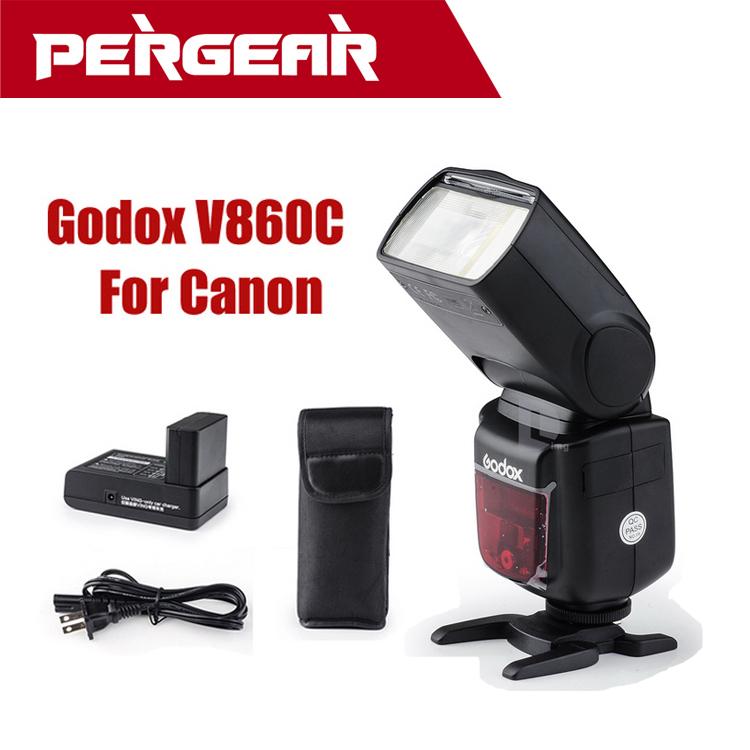 Вспышка для фотокамеры Godox V860C 1/8000S Sync Speedlight e/TTL li/ion Canon TTL Speedlite P0017127 вспышка nissin i40 для фотокамер canon e ttl e ttl ii i40 canon
