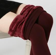 Hot Sale Cold Weather Women Skinny Free Size Pants Leggings Heavyweight Winter Pants High Quality Long Pants(China (Mainland))
