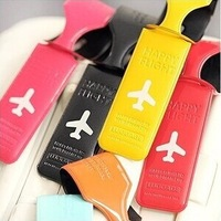 Hotsale Soft PVC New Consignment Baggage/ Suitcase Bag Tag/ Luggage Tag Traveling Accessories