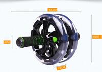 Ab wheel abdominal wheel abdomen drawing fairload dizzying mute ab fitness equipment abdominal wheel