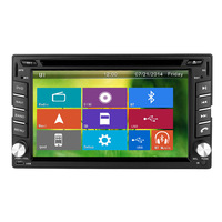 Free Camera CAR RADIO DVD PLAYER Universal Interchangeable WITH GPS,IPOD ,RDS ,TV,3G ,SUPPORT 1080 P,MIRROR LINK ,IPHONE 5S .
