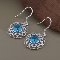 New Hot Sale Earrings Fashion Jewelry Women 925 Silver Drop Earrings Free Shipping YA-AE777