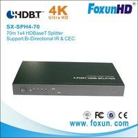 70M 1X4  HDBaseT splitter with 4K2K