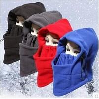 Winter cap men&women Outdoor multi-purpose windproof hat fleece Warm mask cap Skullies & Beanies for cycling skiing mask