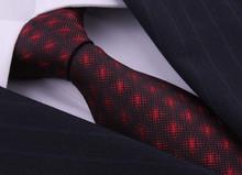 Superior Quality Red Silk Ties For Men Gentlemen Wedding Dress Corbatas Gravatas Masculinas Neckties Gifts For