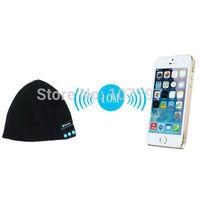 20pcs Free DHL ship Soft Warm Beanie Hat Wireless Bluetooth Smart Cap Headset Headphone Speaker Mic 2color avaiable