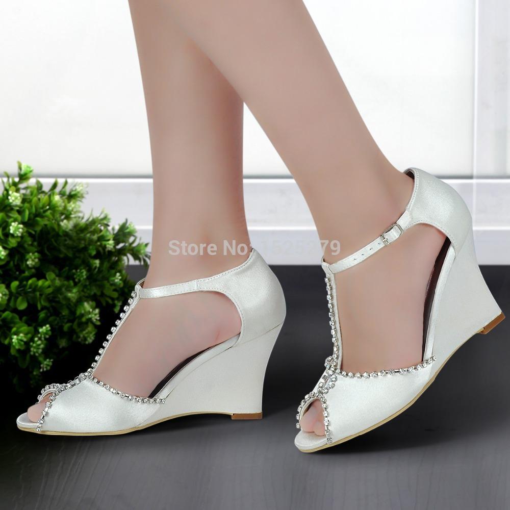 compenses chaussures de mariage - Chaussure Mariage Compense