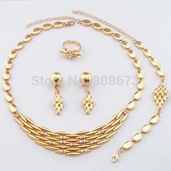 Элегантный золото заполнил ювелирные изделия комплект! высокое качество гарантия! ...