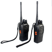 2 PCS Portable Radio Walkie Talkie H-777 Retevis OEM for Baofeng UHF 400-470MHz Station Free Earphone Free Shipping A9105A ESHOW