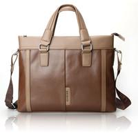 81308-1 Fashionable PU Leather Messenger Bag Handbag Brown