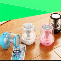 Small wireless Bluetooth speakers magic lamp led bulb lights MF stereo mini stereo speaker gift ideas