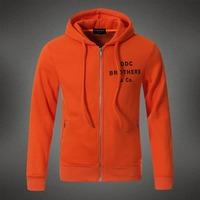 Free Shipping New sport Men Hoodies clothing printing DDC BROTHERS dsq Brand Zipper Sweatshirts hooded winter men hoody