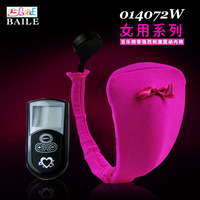 BAILE BRAND Women Sex Procucts 10-speed Wireless Vibration Remote Control C-STRING Clitoral Stimulation Sex Toys BI-014072W