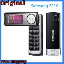 Free Shipping Original Samsung F210 Binou Cell Phone Unlocked Mobile phone