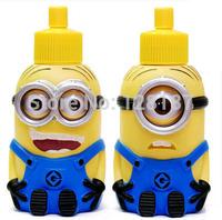 Minions tainless steel vacuum cup water bottle for children cartoon bottle Children gift Christmas gift