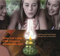 2014 Creative design Retro Blowing Control LED Lamp innovative sensor lamp For Gift