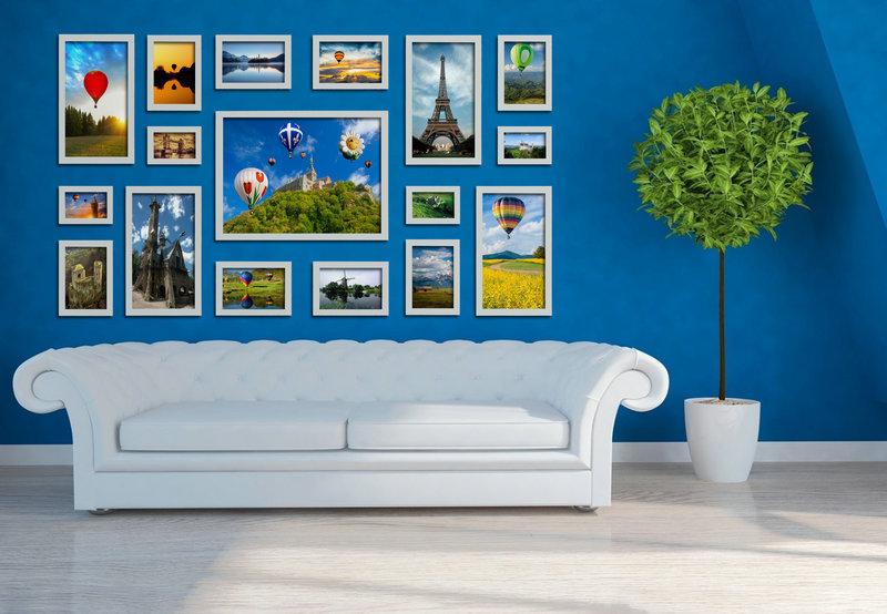 Foto collage muur frames promotie winkel voor promoties foto collage muur frames op - Eigentijdse muur ...
