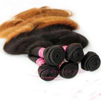 SISI 5pcs/lot brazilian  body wave 100% weave extension Grade 5A unprocessed Hair Bundles DHL FREEShipping