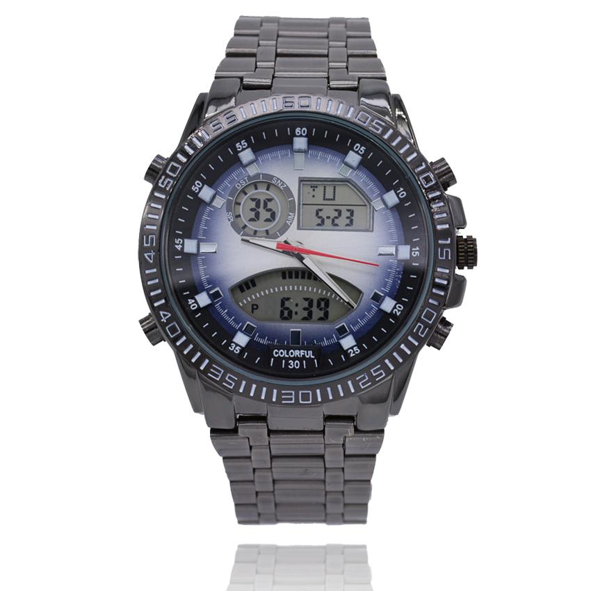led analog digital watches luxury brand