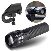 CREE Q5 240Lumens 3Modes Outdoor Bicycle LED Flashlight+ Mount