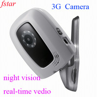 3G remote home alarm camera can detect anywhere at anytime by dialing video calls with 3G mobile phone